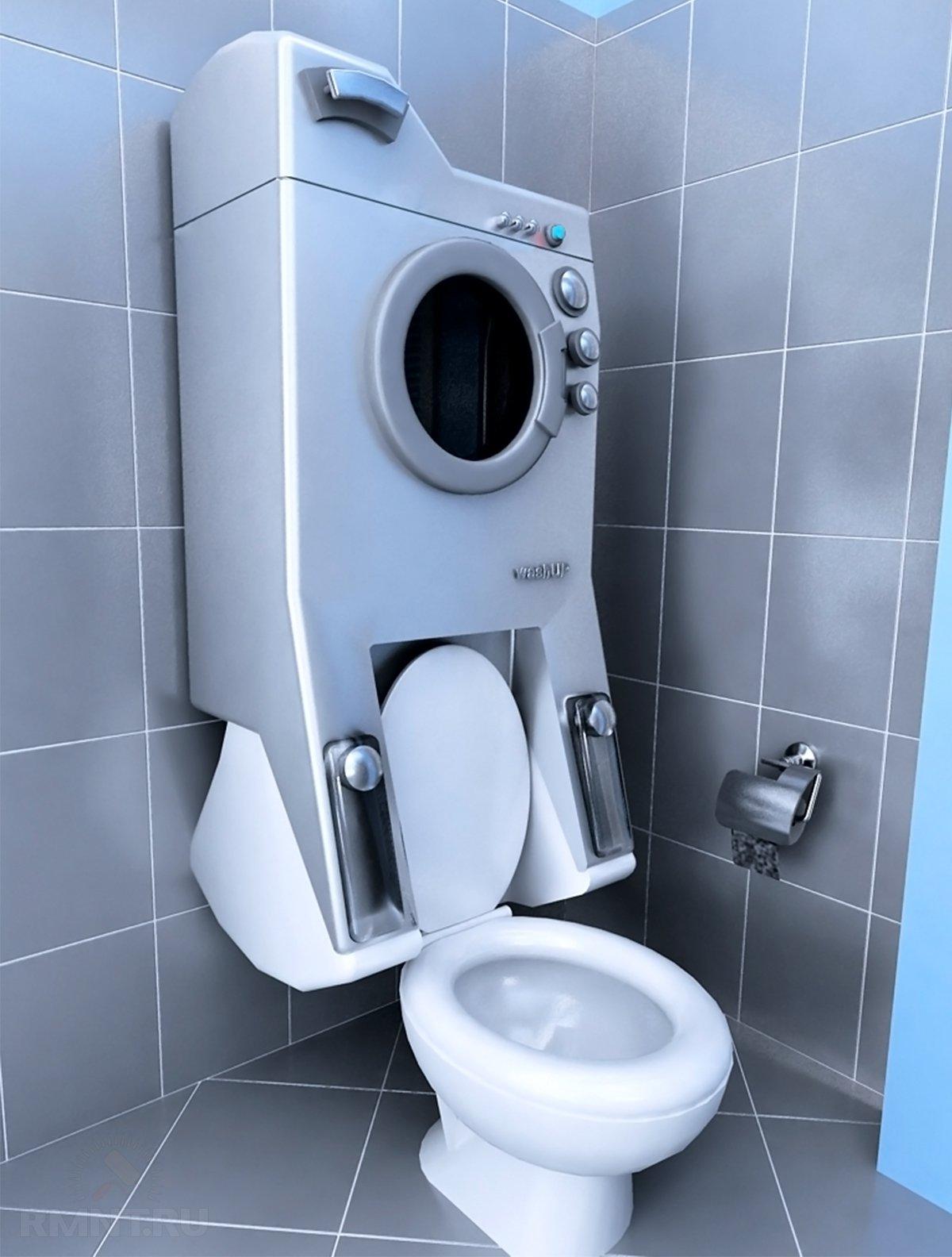 Идеи размещения стиральной машины в квартире
