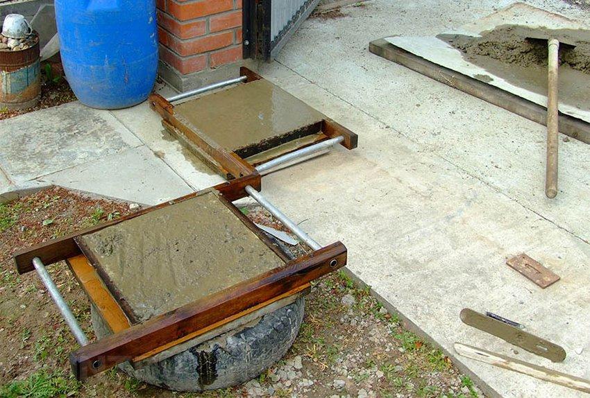 Изготовление тротуарной плитки своими руками без вибростола 30