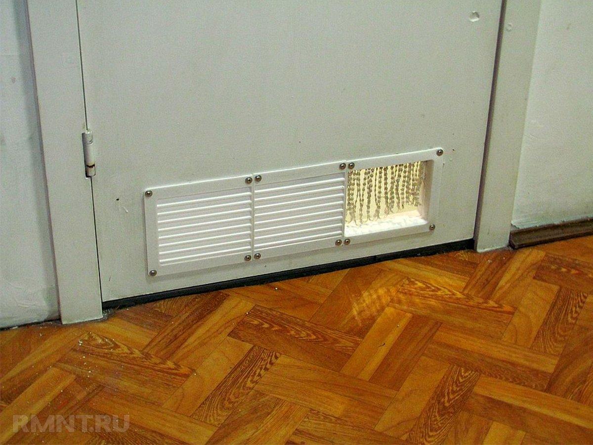 Всё о вентиляционных решётках для дверей