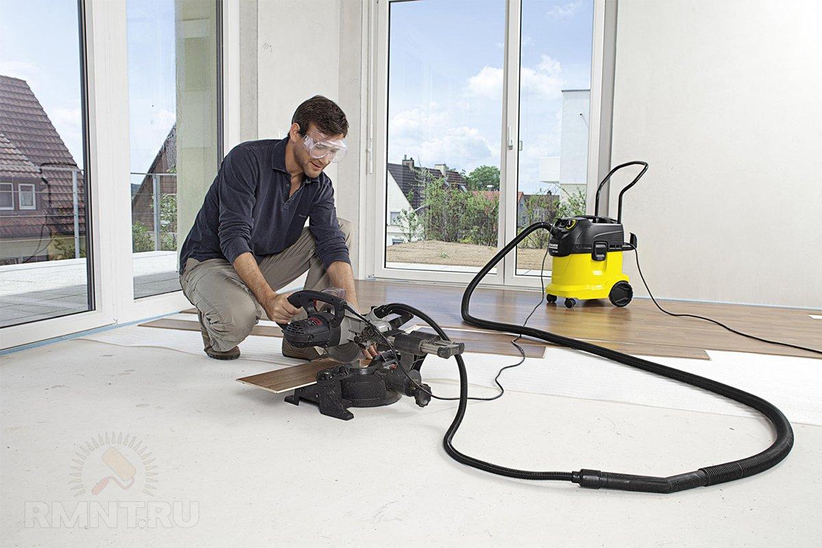 как выбрать строительный пылесос для ремонта