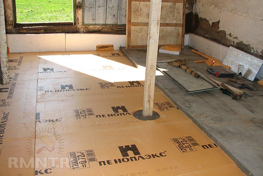Как сделать стяжку пола на деревянном полу