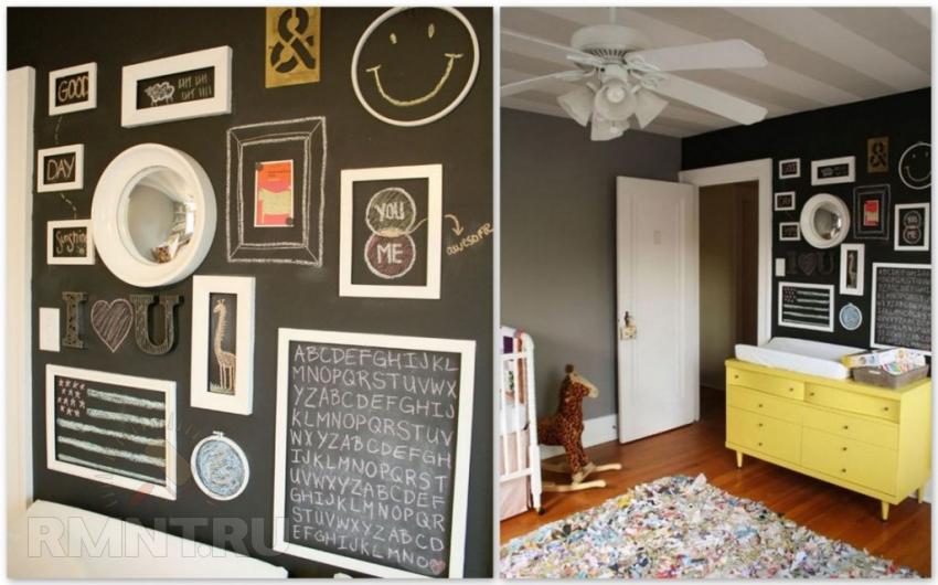 10 идей для оригинального декорирования стен