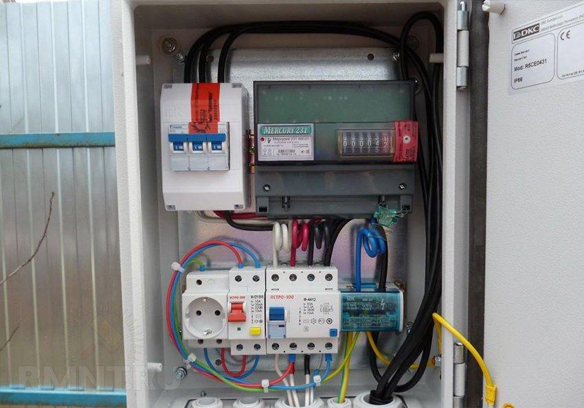 Сборка электрощита для частного дома 380в 15квт своими руками