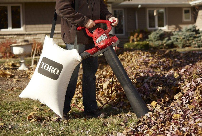Как выбрать садовый пылесос-воздуходувку