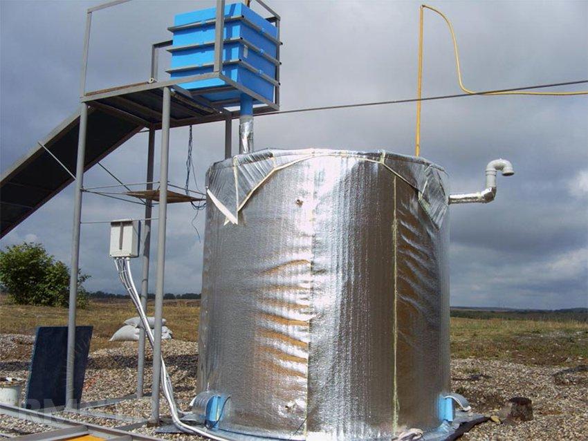 Биогазовая установка. Переработка органических отходов с пользой