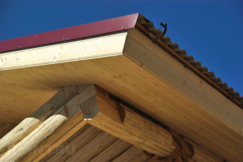 Как сделать карниз крыши своими руками фото 21