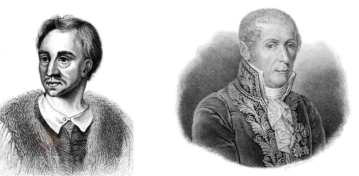 Ян Баптиста ван Гельмонт и Алессандро Вольта