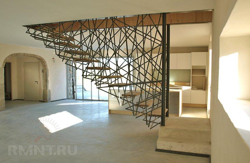 Оригинальные идеи в создании лестниц