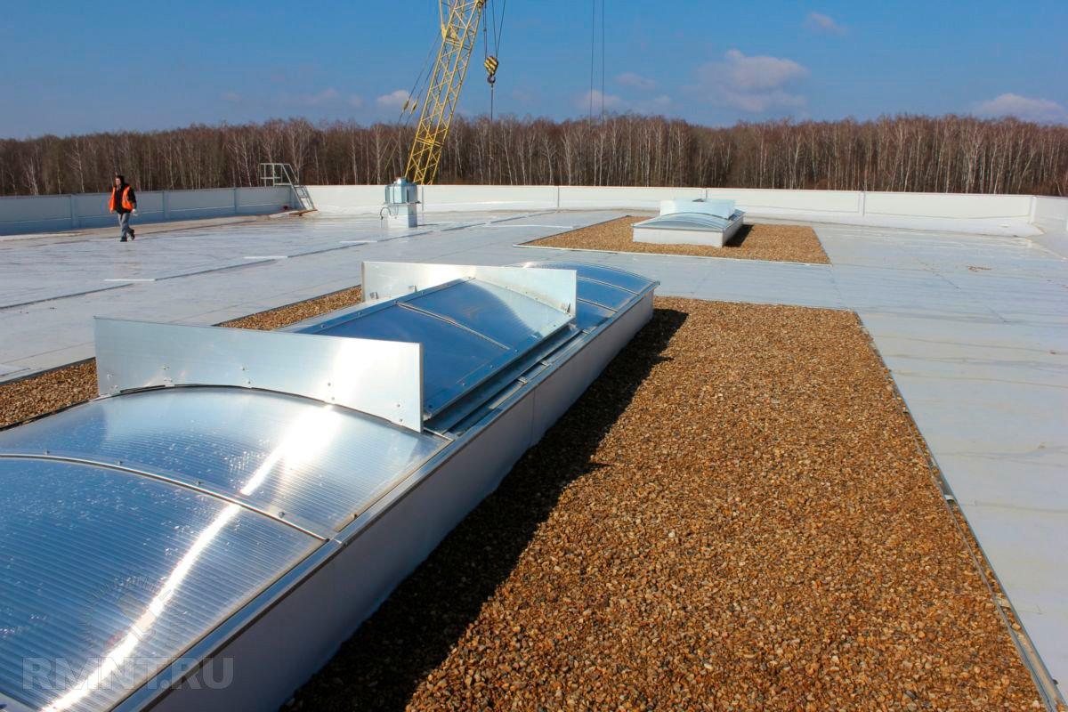 Разуклонка плоской кровли: устройство плоской крыши