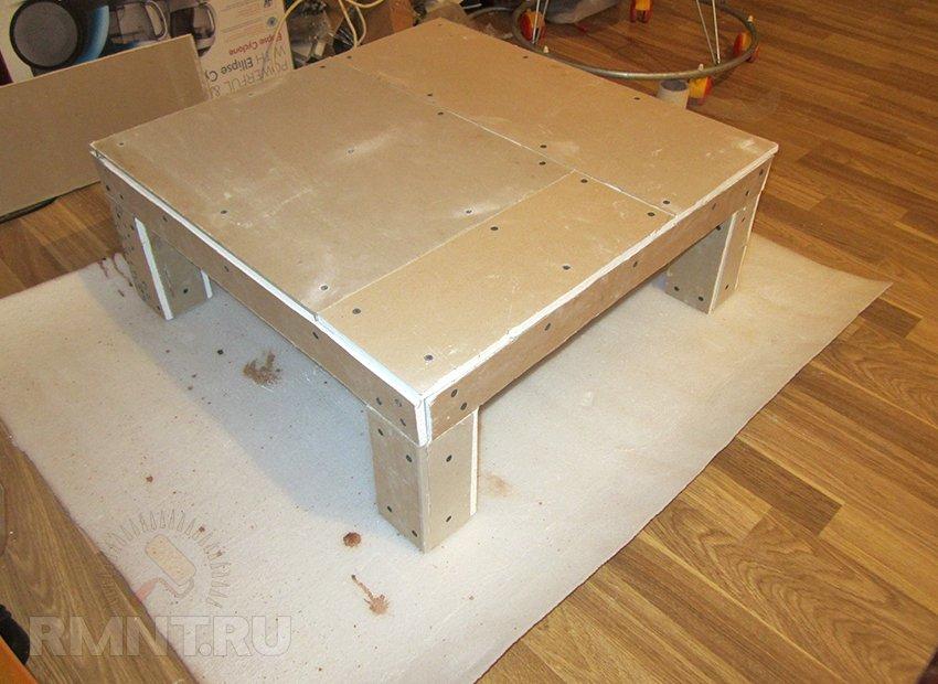 Как сделать плите стол 249