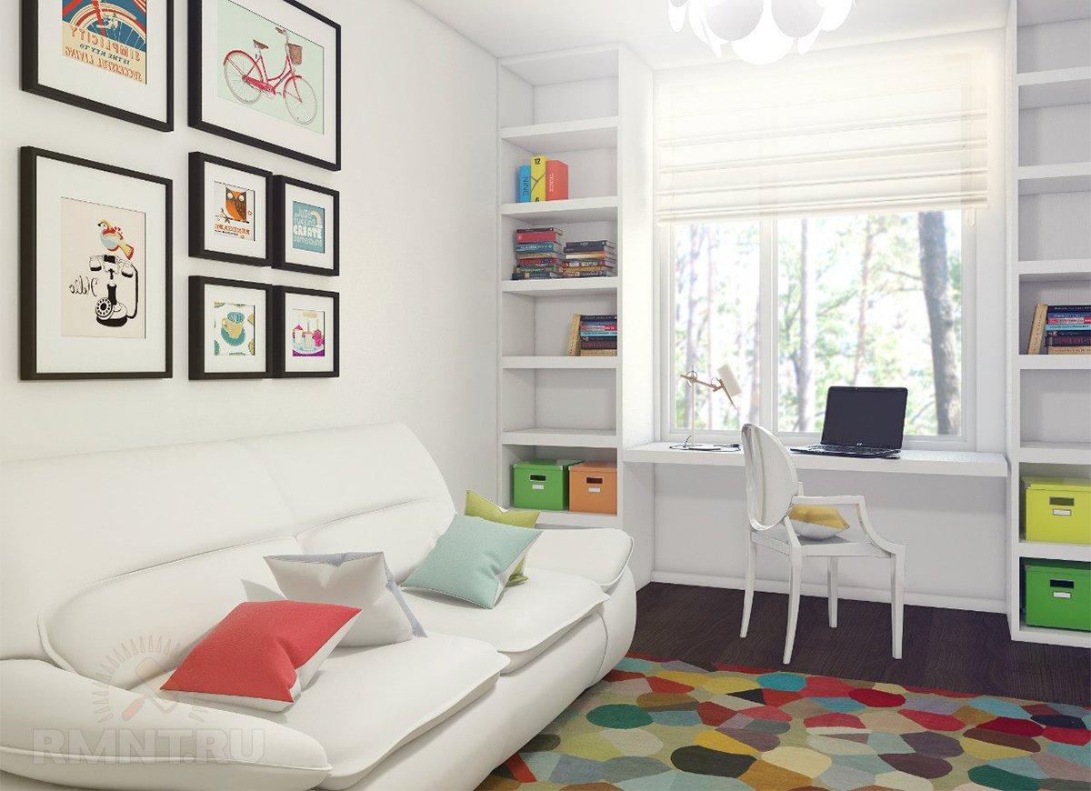 Детская комната для школьника 10 кв м дизайн