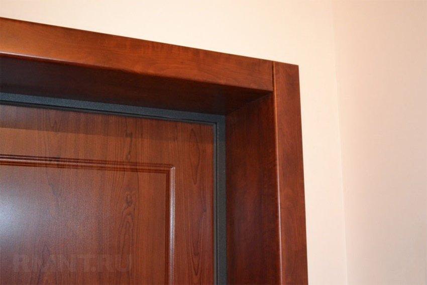 Доборы для входной металлической двери своими руками