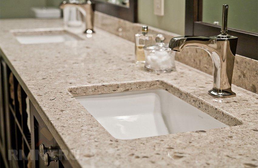 Столешница из полимерного бетона своими руками столешница кухонная из гранита