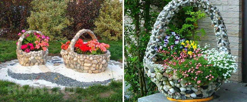 32 идеи с фото для оригинального украшения сада своими руками
