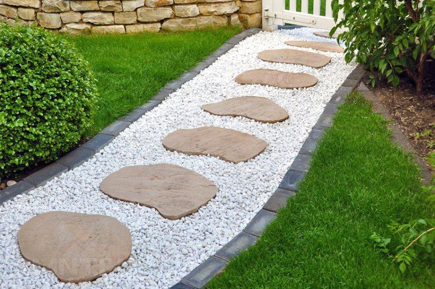 Натуральный камень на дорожки