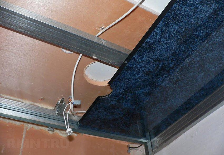 Монтаж панелей на потолок в ванной своими руками 168