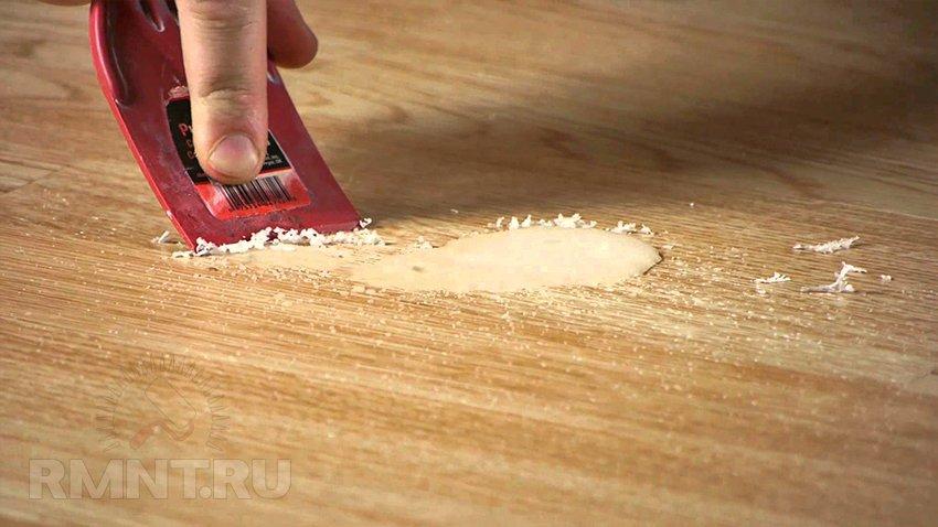 Ремонт ламината: видео-инструкция - как ремонтировать