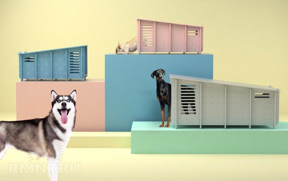 Коллекция собачьих домиков от Barkitecture