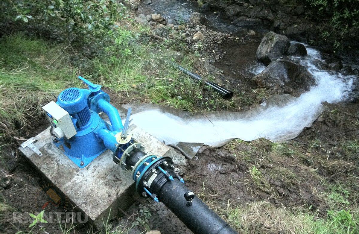 Гидротурбина мини-ГЭС